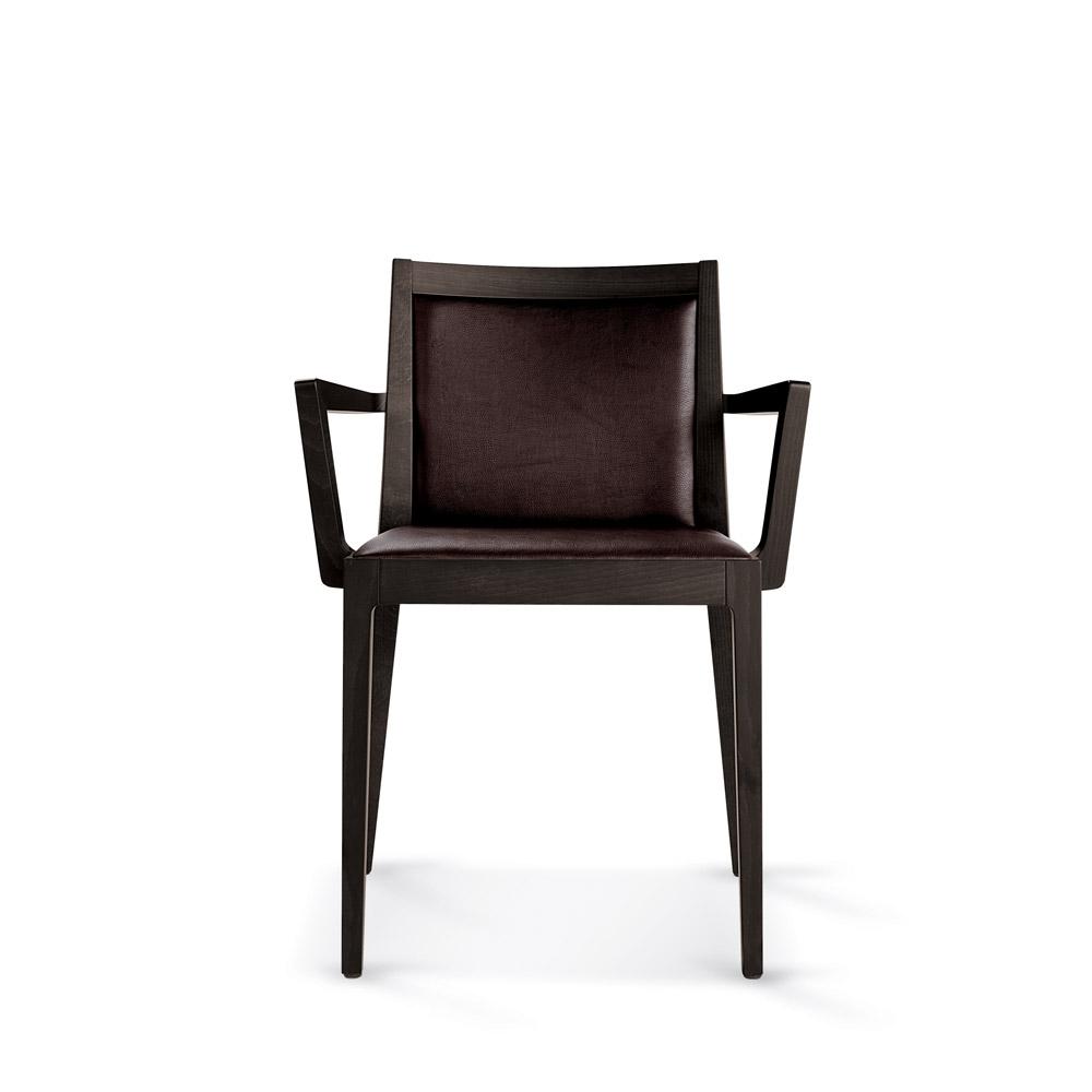 Sd morfeo b sedia in legno con braccioli vela stile for Sedia q v8000