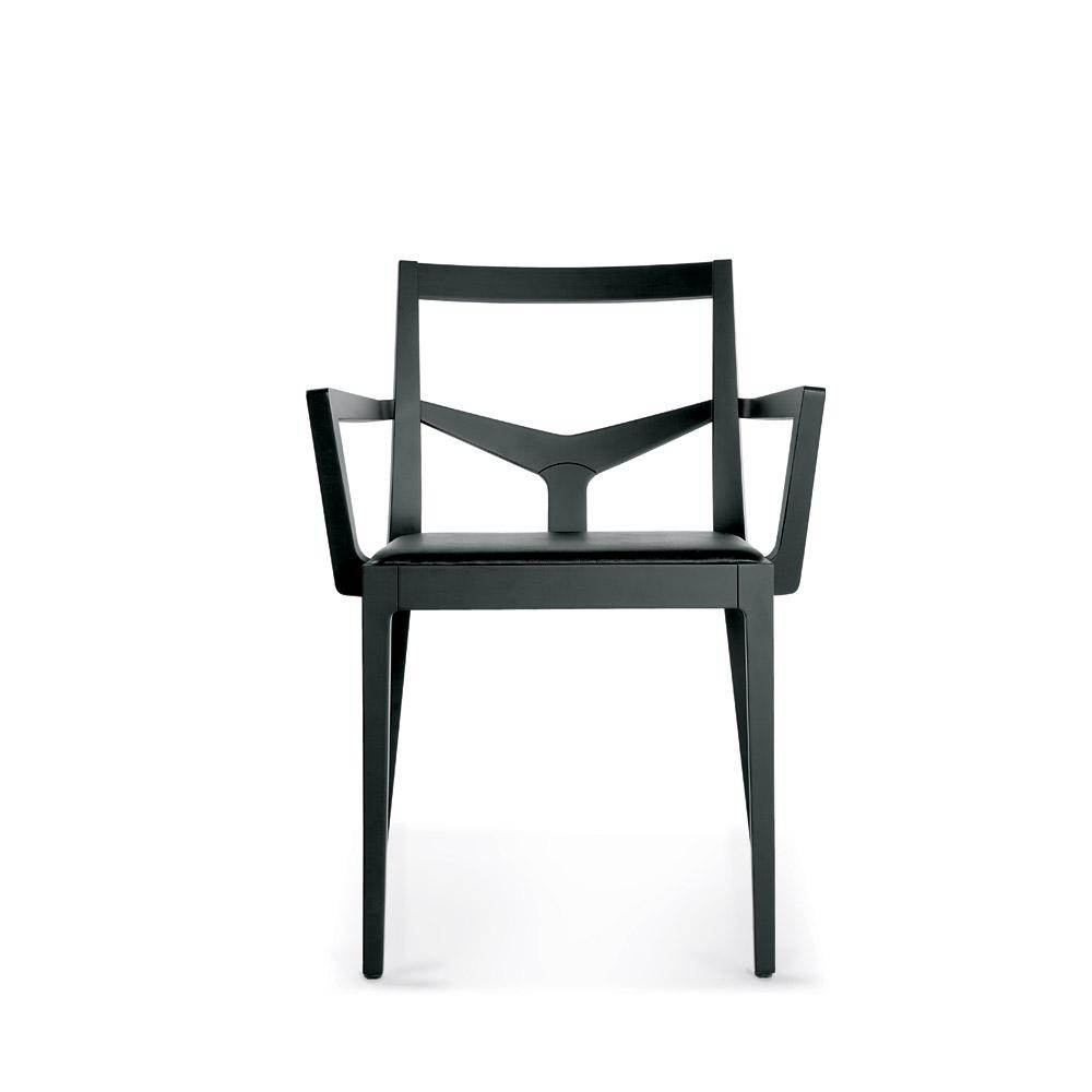 Sd morfeo b sedia in legno con braccioli vela stile for Sedia b b