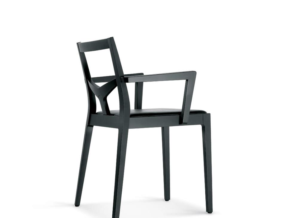 Sedie In Legno Con Braccioli : Sd morfeo b sedia in legno con braccioli vela stile